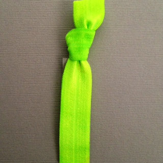 1 Kelly Green Hand Dyed Hair Tie by Elastic Hair Bandz on Etsy